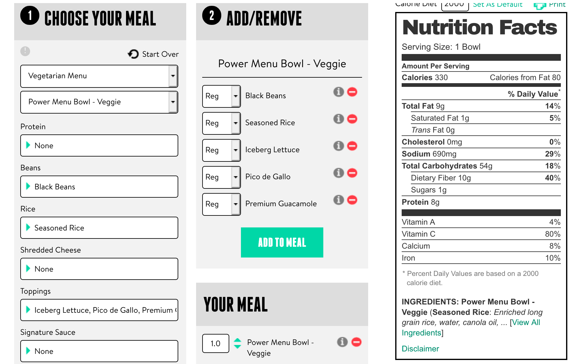 Taco Bell's website includes a very comprehensive nutrition calculator that can help you find fast foods that are okay for kidney disease!
